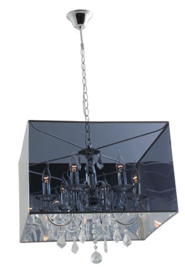 Grand Elegance Chrome Chandelier