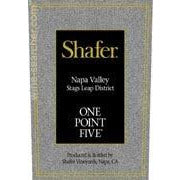 Shafer One Point Five Cabernet Sauvignon Napa Stag's Leap 2017
