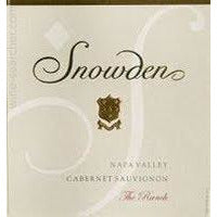 Snowden The Ranch Cabernet Sauvignon California Napa 2015