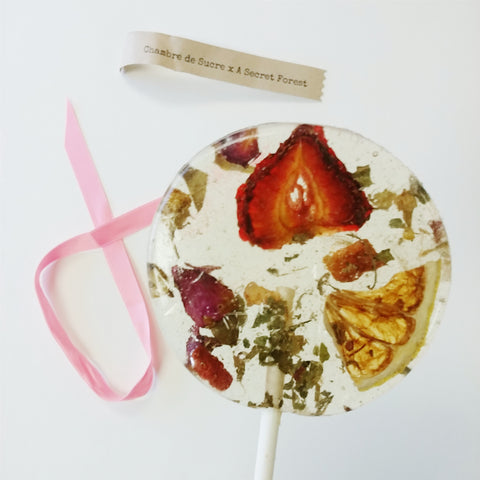 Tea-Infused Lollipop Avignon