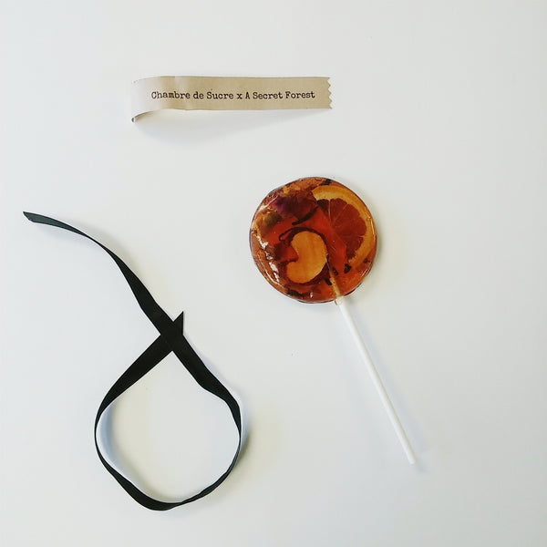 Tea-Infused Lollipop Love Spell