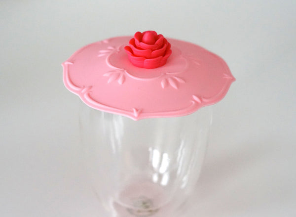 Rose Silicone Cup Cover