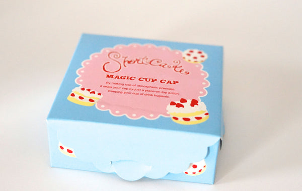 Strawberry Shortcake Silicone Cup Cover