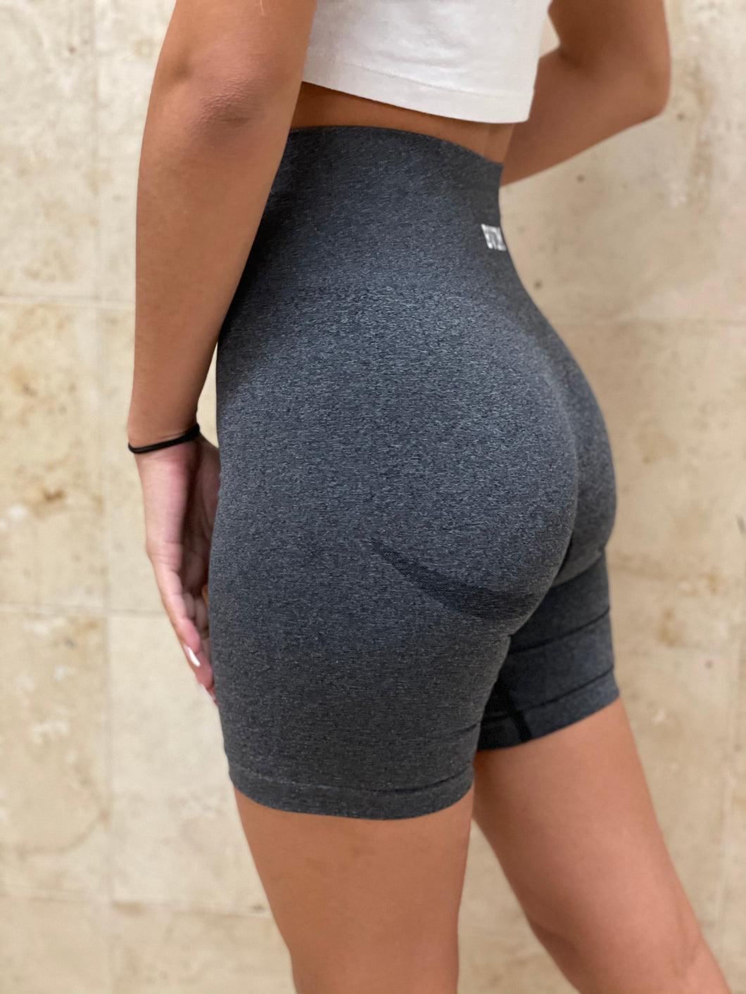 Dark Gray Seamless Shorts