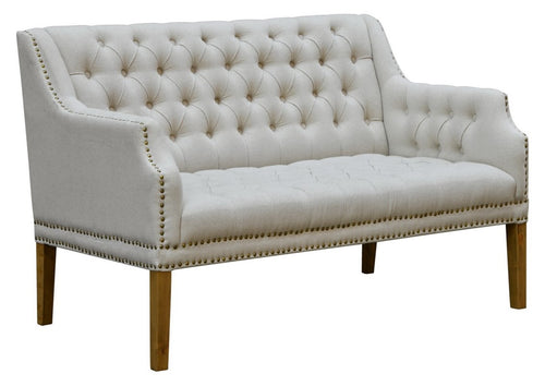 Bench with Tufted Back