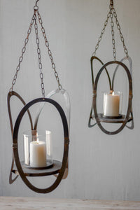 Candle Holders Hanging Set of 2