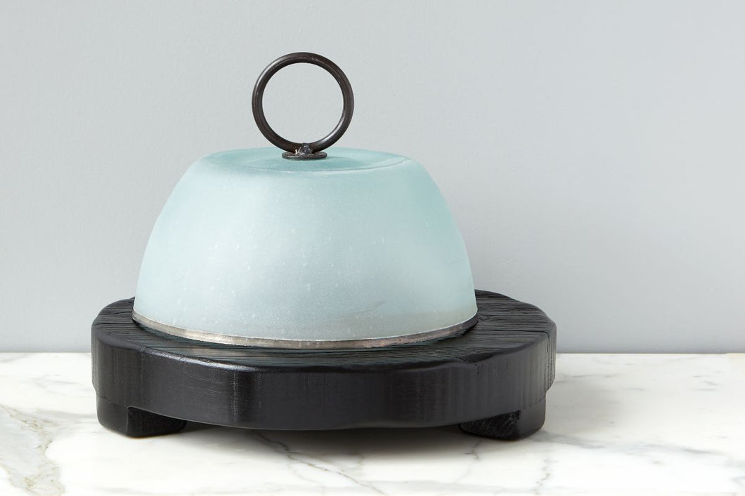 Cloche with Frosted Glass