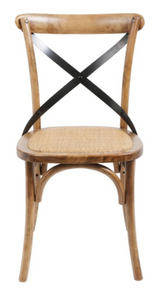 Side Chair Brody Medium Brown