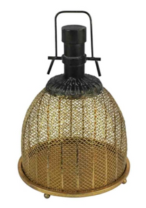 Lantern Metal Bronze Small