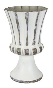 Vase Pedestal White Large