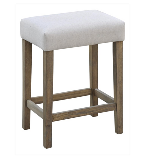 Barstool Upholstered Natural Counter
