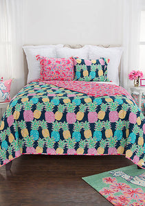 Bedding SS Quilt Pineapple Queen