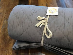 Bedding Queen Gray The Lucy ***DISCONTINUED***