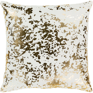 Pillow Cream With Gold Speckles