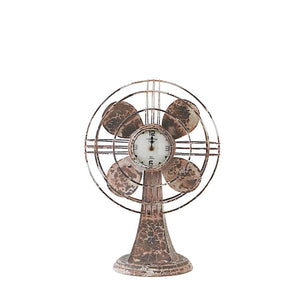 Clock Fan Metal