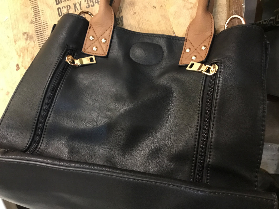 Bag With Side Zips