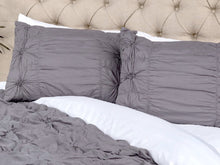 Shams Set King Dark Gray The Elizabeth