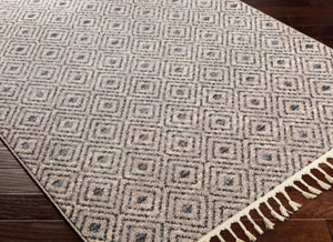 Rug Cream And Gray Diamonds 2x3