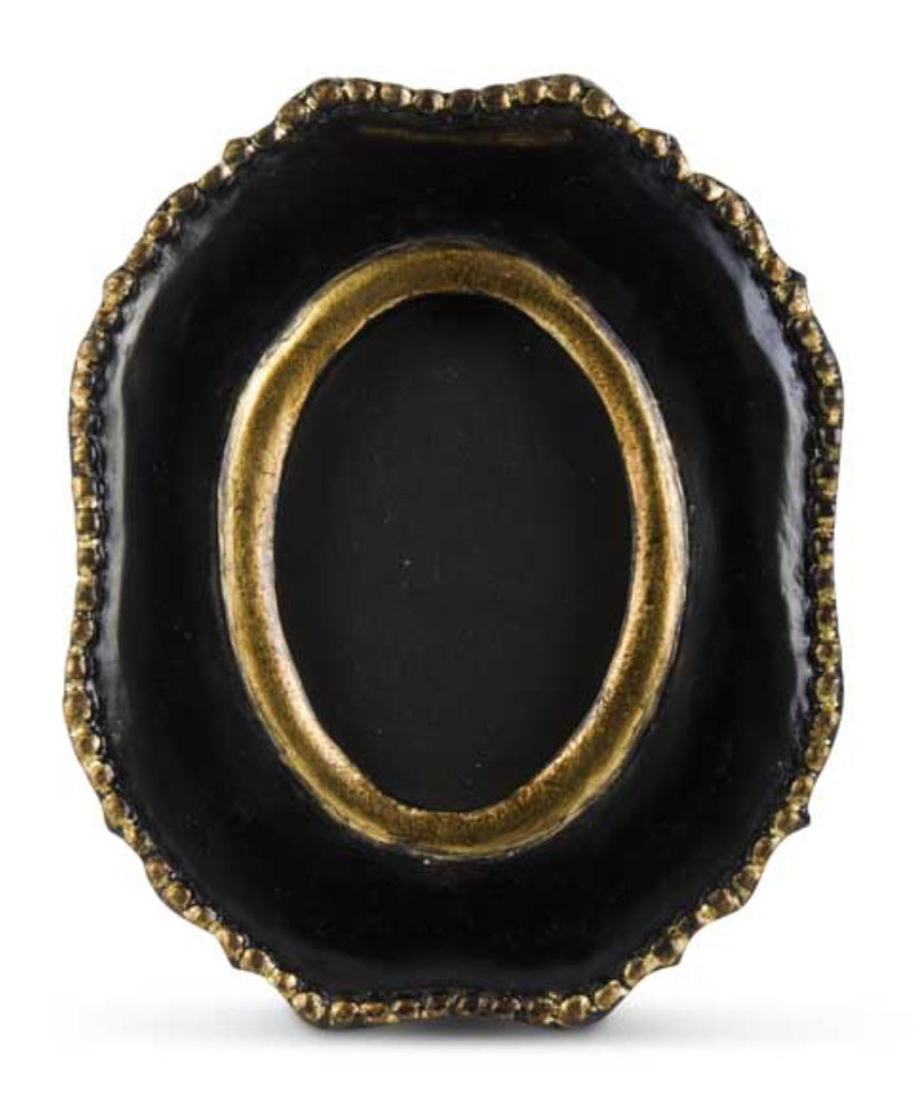 Frame Ornate Black Gold 9.75