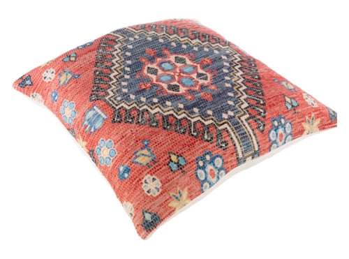 Pillow Devonshire Red