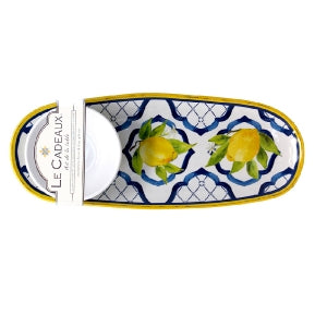 Bowl & Tray Set Lemons LC