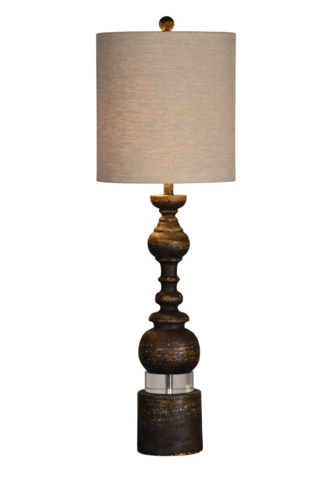 Buffet Lamp Elise Brown
