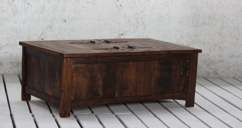 Coffee Table Box Old Wood