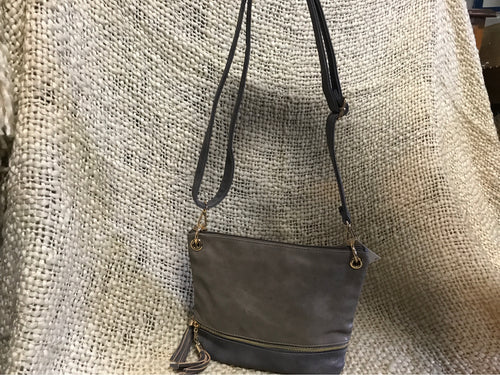 Crossbody Two tone Stone Ash