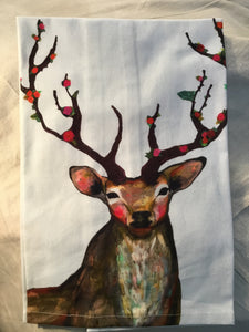 Tea Towel Buck