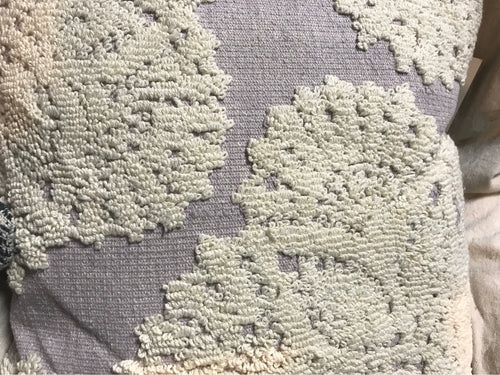 Pillow Lavender Ivory