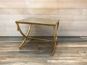 Side Tables Gold