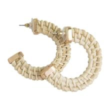 Earrings Hoops Samoa Ivory MM