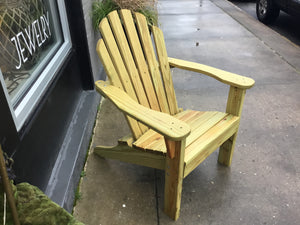 Chair Adirondack Unfinished