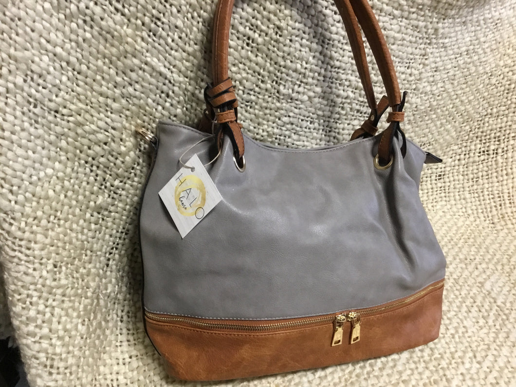 Bag Hobo Slouchy Grey
