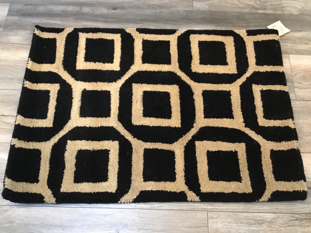 Rug Julian Pointe Black 2x3