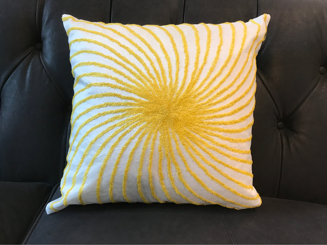 Pillow White And Yellow