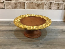 Tray Wood With Honeycomb Handle