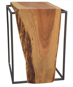 Side Table Live Edge