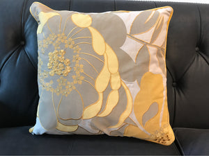 Pillow Yellow Floral