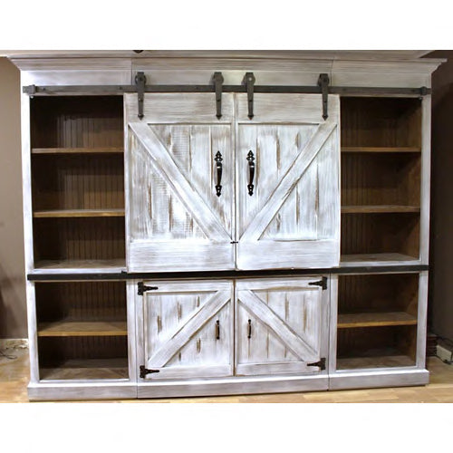 Entertainment Center Barn Doors