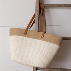 Bag Rope Tote Cream