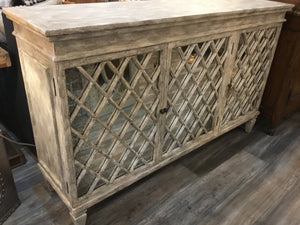 Buffet Sideboard Carlyle Washed Gray