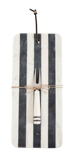 Serving Board Long Marble Stripe MP