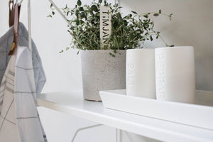 Set of salt and pepper white Näs from Storefactory