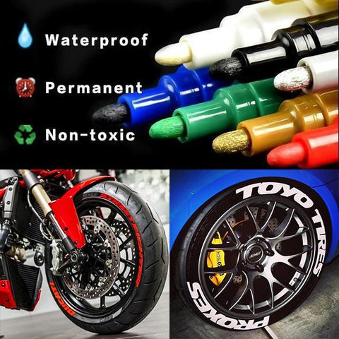 Holiday Promotion, 50% OFF-Waterproof Tire Paint Pen