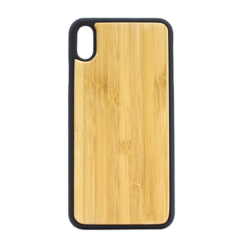 New wooden all-inclusive drop-proof iPhone XS Max mobile phone case
