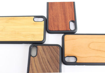 New wooden all-inclusive drop-proof iPhone X/XS  mobile phone case