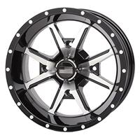 Frontline 556 Machined Black Wheel Set