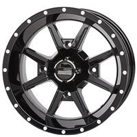Frontline 556 Gloss Black Wheel Set