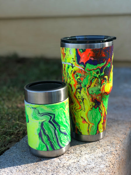 Regular Can Koozie and 30 oz. Double Walled Tumber